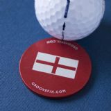 St George's Flag – BIG ball marker